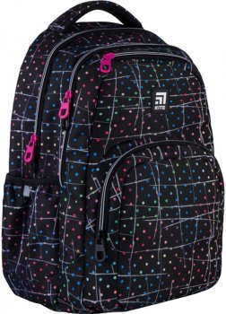 Рюкзак Kite Education teens для дівчаток 930 г 44x31.5x14 см 26 л Чорний (K21-903L-3)