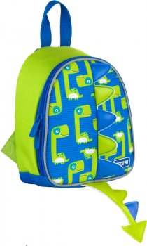 Рюкзак Kite Kids для хлопчиків 150 г 22х20х9 см 3.25 л Синьо-зелений (K21-538XXS-2)