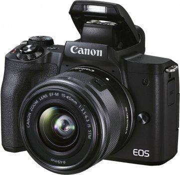 Фотоапарат Canon EOS M50 Mark II Premium Live Stream Kit Black (4728C059) Офіційна гарантія!
