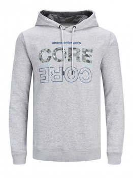 Худі Jack & Jones 12185063-54013 Light Grey Melange