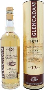 Виски односолодовый Glencadam 13 лет выдержки в подарочной упаковке 0.7 л 46% (5021349703334)