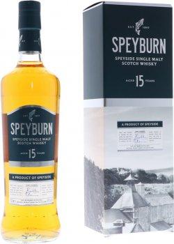 Виски односолодовый Speyburn 15 лет выдержки в подарочной упаковке 0.7 л 46% (5010509881173)