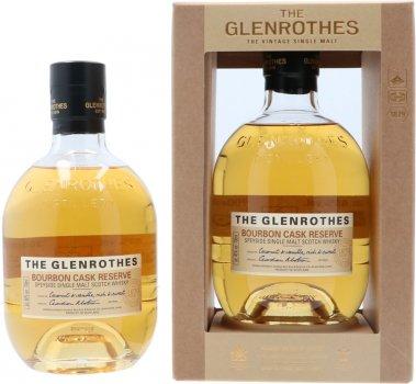 Виски односолодовый The Glenrothes Bourbon Cask Reserve подарочной упаковке 0.7 л 40% (5010493025591)