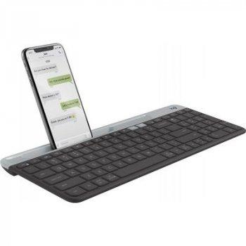 Клавіатура Logitech K580 Slim Multi-Device Wireless Graphite (920-009275)