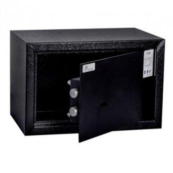 Сейф мебельный Ferocon, модель БС-20К.9005 из стали черный (210812)