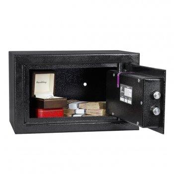Сейф мебельный Ferocon, модель ЕС-20К с 8-ми сувальдный замок из стали черный (620492)