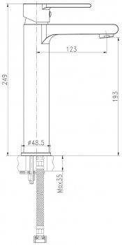 Змішувач для раковини CERSANIT Brasco S951-366