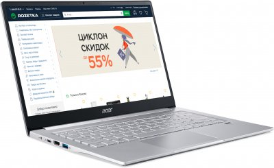 Ноутбук Acer Swift 3 SF314-42-R2E4 (NX.HSEEU.00P) Pure Silver