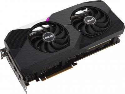Asus PCI-Ex Radeon RX 6700 XT Dual 12GB GDDR6 (192bit) (HDMI, 3 x DisplayPort) (DUAL-RX6700XT-12G)