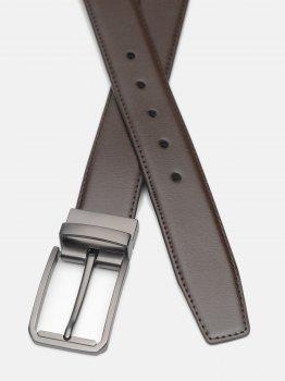 Мужской ремень кожаный Laras C35-4086-3 115-125 см Коричневый (ROZ6400030359)
