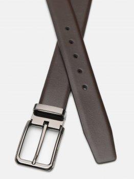 Мужской ремень кожаный Laras C35-4131-4 115-125 см Коричневый (ROZ6400030363)