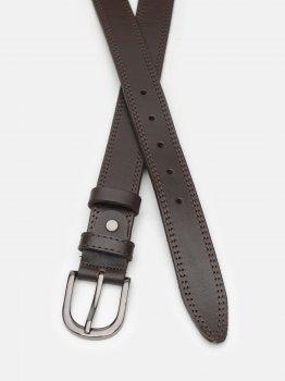 Женский ремень кожаный Laras CV10W45 100 см Коричневый (ROZ6400030393)