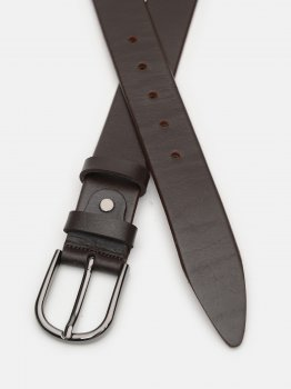 Женский ремень кожаный Laras CV10W48 100 см Коричневый (ROZ6400030396)