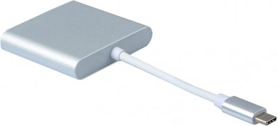 Адаптер Dynamode Multiport USB3.1 Type-C to HDMI/USB 3.0/USB Type-C до 4K HD-3840x2160 (Multiport USB 3.1 Type-C to HDMI)