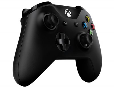 Бездротовий геймпад Microsoft Xbox One Controller Black + Wireless Adapter for Windows 10 (4N7-00003)