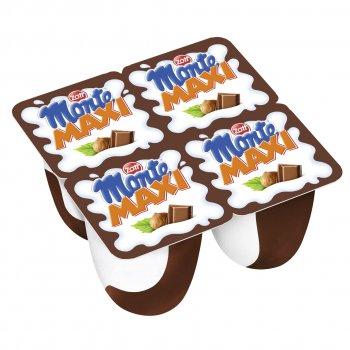 Десерт Zott Монте с шоколадом и орехами, 100 г