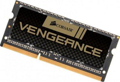 Модуль пам'яті SO-DIMM 8GB/DDR3 1600 Corsair Vengeance Black (CMSX8GX3M1A1600C10)