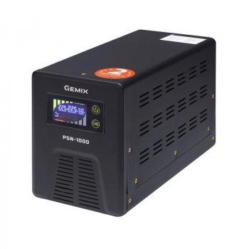 ПБЖ Gemix PSN-1000 (PSN1000VA), Lin.int., LCD, 2хEURO, метал
