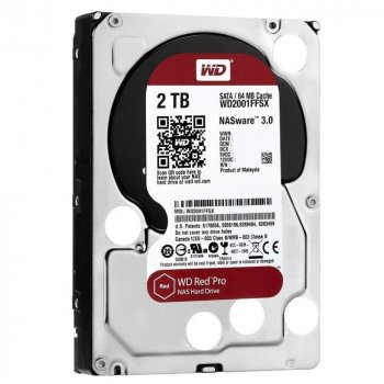 WD Red Pro NAS 7200rpm 64MB WD2002FFSX (WD2002FFSX)