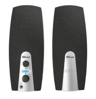 Колонки для ПК Trust MiLa 2.0 Speaker Set BLACK/WHITE