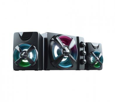 Колонки для ПК Trust 2.1 Ziva RGB Black