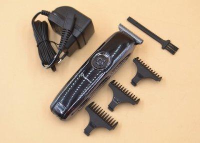 Беспроводная машинка для стрижки волос универсальная Gemei GM-6050 Black