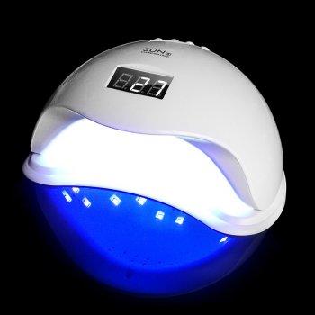 Лампа для гель лака сушилка UV/LED Sun 5 на 48 Ватт белая