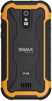 Мобільний телефон Sigma mobile X-treme PQ20 Black-Orange