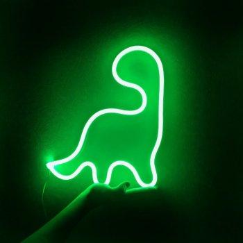 Неоновий світильник Neon Lightning «Динозавр»