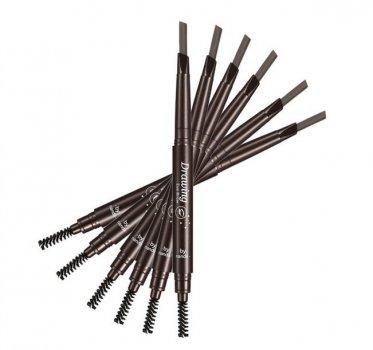 Олівець для брів плоский зі щіточкою № 05