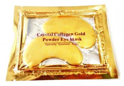 Колагенові патчі під очі з біо-золотом Crystal Collagen Cold Eye Mask