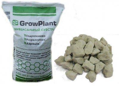 Субстрат для орхідей універсальний вологоутримуючий гранульоване Піноскло GrowPlant 10-20 мм 50 л