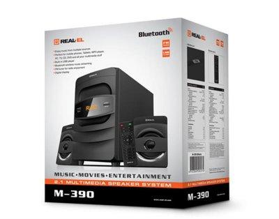 Акустична система REAL-EL M-390 Black