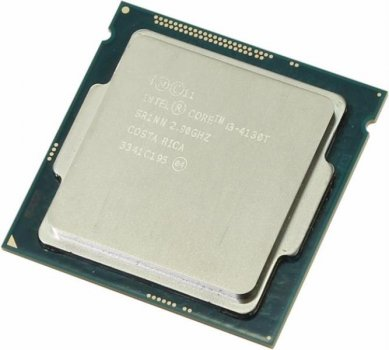 Процессор Intel Core i3-4130T (S1150/2x2.9GHz/5GT/s/3MB/35 Вт/BX80646I34130T) Б/У
