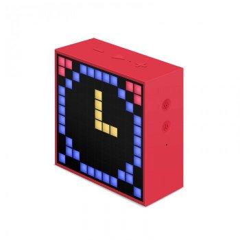 Портативная беспроводная Bluetooth колонка Divoom Timebox-Mini 5Вт Red (DT2R)