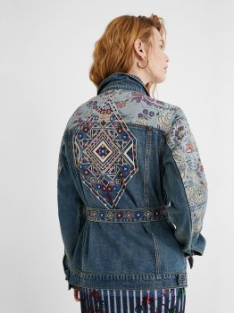 Джинсова куртка Desigual 21SWED46-5053