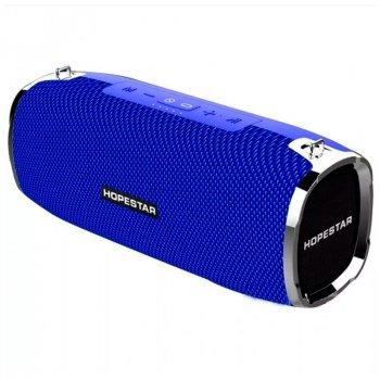 Портативна бездротова Bluetooth колонка Hopestar A6 35Вт Blue з вологозахистом IPX6 і функцією зарядки пристроїв (A6BL)