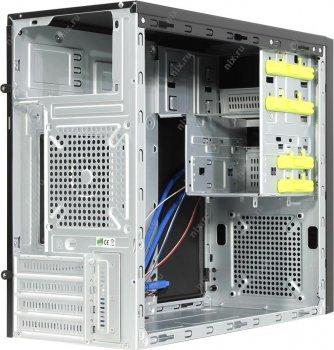 Корпус Chieftec Elox HT-01B, Без БЖ, 2xUSB3.0, Black