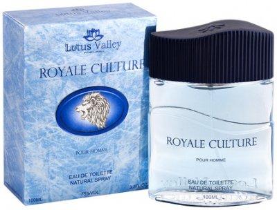Туалетная вода для мужчин Lotus Valley Royale Culture 100 мл (MM32002) (6291104321236)