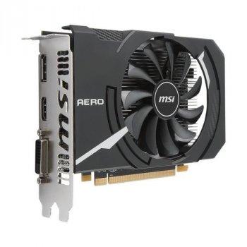 MSI PCI-Ex Radeon RX 550 Aero ITX OC 2GB GDDR5 (128bit) (1203/6000) (DVI, HDMI, DisplayPort)