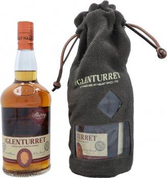 Виски односолодовый Glenturret Sherry 0.7 л 43% в подарочной упаковке (5010314302641G)