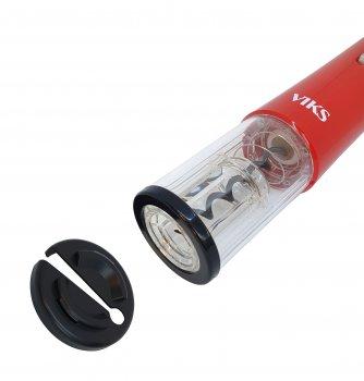 Електричний штопор для вина VIKS Red + 4 батарейки