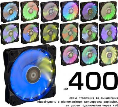 Кулер Frime Iris LED Fan 16LED RGB HUB-2 (FLF-HB120RGBHUB216)