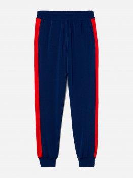 Спортивные штаны H&M 6448337-AAXH Темно-синие с красным