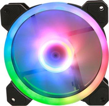 Набор ARGB вентиляторов с модулем управления Gelid Amber 5 ARGB Combo Bundle (5 вентиляторов) (RF-RGB-MP-01)