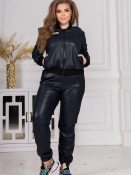 Спортивні штани Vojelavis 146 Темно-сині з чорним