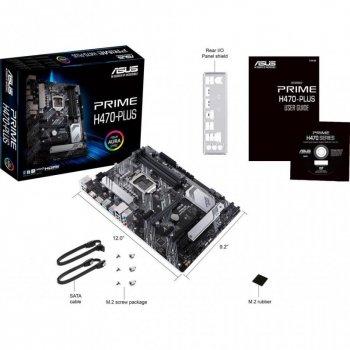 Материнська плата Asus Prime H470-Plus (s1200, Intel H470, PCI-Ex16)