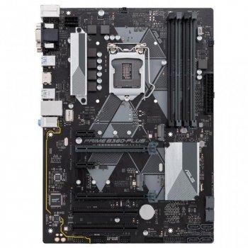 Материнська плата ASUS PRIME B360-PLUS (LGA 1151-v2, Intel B360, 4xDDR4-2666 МГц, 2xPCI-Ex16, аудіо 7.1, Standard-ATX)