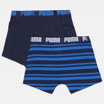 Труси-шорти Puma Heritage Stripe Boxer 2 90783803 2 шт. Blue