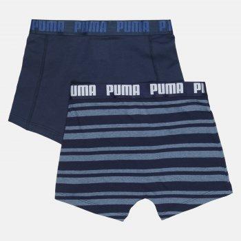 Труси-шорти Puma Heritage Stripe Boxer 2 90783804 2 шт. Denim